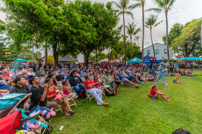 4th of July Game Show in Lahaina